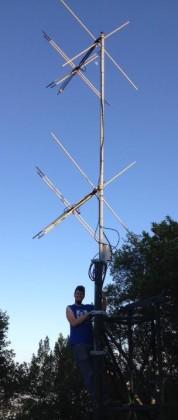 AUN-TV AntennaInstall