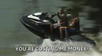 Jet Ski Coyote Caught Smuggling Women at Border, Video