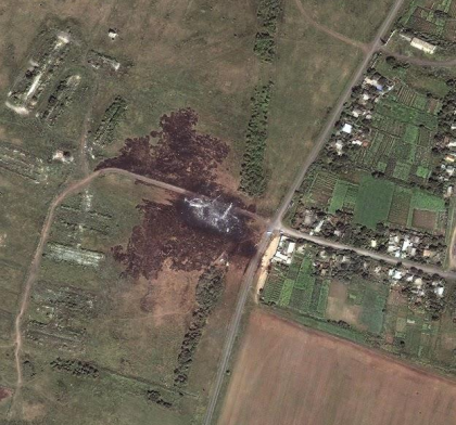 US and Russian Satellite Images, Do Both Indicate Ukraine Fired Missiles At MH-17?