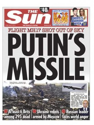 Rush to Judgement on MH17, Declared Russian Missile Strike Almost Immediately