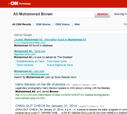 CNN-Censors Ali Muhammad Brown