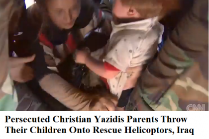 Heroic Mission Rescues Desperate Yazidis From ISIS, Video