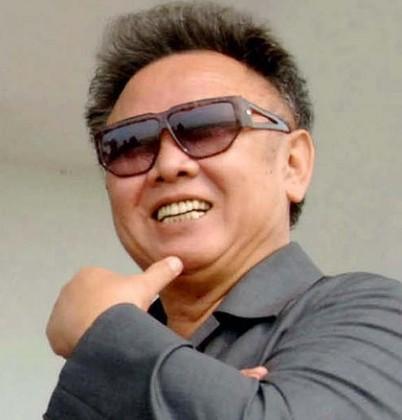 Kim Jong-il portrait
