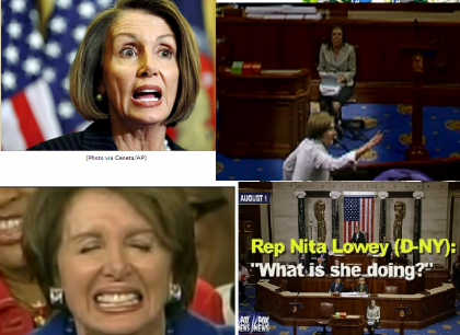 Another Pelosi Meltdown, Is She Mentally Competent? Is The Empress Naked?
