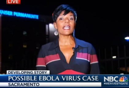 Sacramento CA Patient May Have Ebola, NBC Video