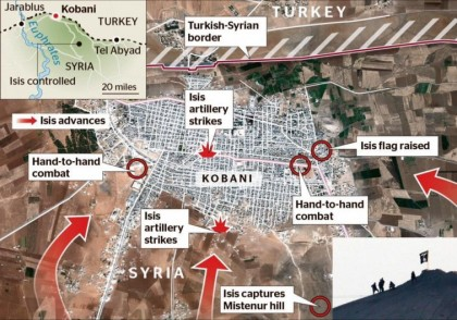 ISIS' Army poised to take Kobani