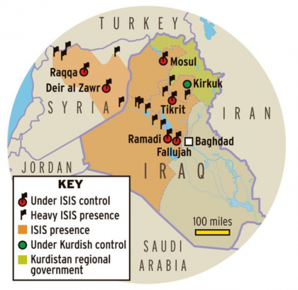 Obama War On ISIS Is Being Won By ISIS, On All Major Fronts