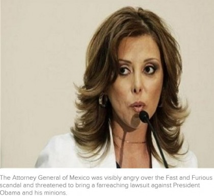 Obama Being Coerced by Mexican Attorney General Marisela Morales Over Fast and Furious?