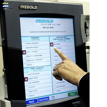 Confirmation!  Voting Machines Rigged for Democrats