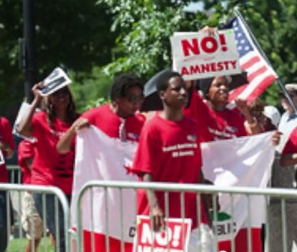 Black Activists Condemn Obama Amnesty Plan for Illegal Aliens, Protest Censored