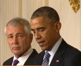 Obama Fires Chuck Hagel – His Third Secretary of Defense