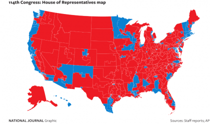 New Map For Congress, Rural Areas Reject Democrats