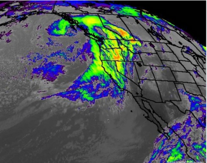 Biggest Storm in Five Years Hits Drought Stricken California