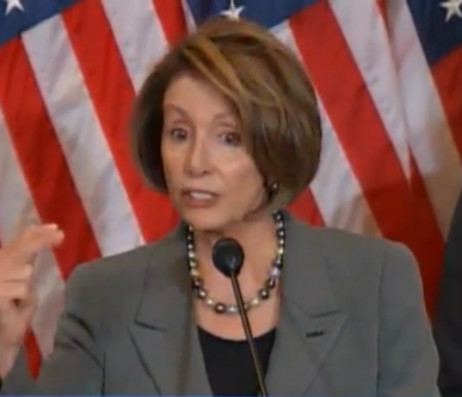 Nancy Pelosi Ignores Law  To Buy New Shoes,  Traffic Laws Don't Apply To Her!