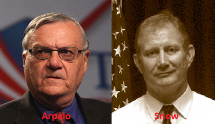 Strange Tale Of A Federal Judge Targeting Sheriff Arpaio, Despite His And Wife's Conflict Of Interest