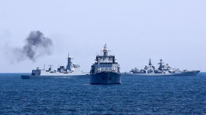 China, Russia Unveil First-Ever Mediterranean Joint Naval Exercise