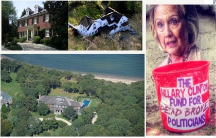 Dead Broke Hillary Clinton Shocks Students Into Disbelief With Her Mega Mansions, Video