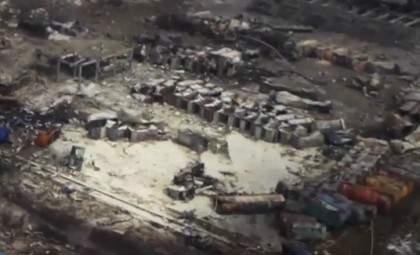 Drone View Chinese Explosion Site, Up Close Video Of Blast, Total Devastation, Censorship
