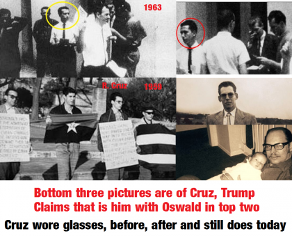 Trump Accuses Ted Cruz's Father Of Being With Lee Harvey Oswald Just Before Assassination, Seriously, See The Pics And Video