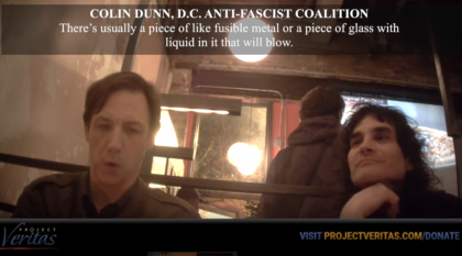 Undercover Operation By Project Veritas Reveals Planning For Acid Bombs At Trump Inauguration: Video
