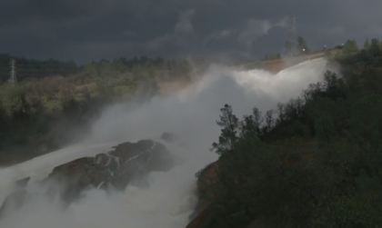 Oroville March 17th Spectacular Re-Opening of Main Spillway