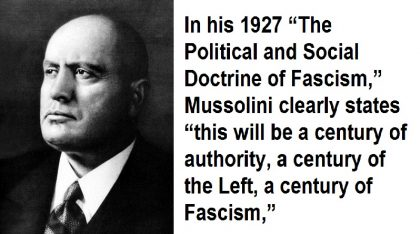 Hitler and Mussolini:  History's Dirty Little Secret, They Openly Confessed They Were Socialist/Marxist