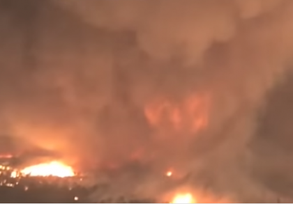 Size, ferocity of 'fire tornado' stuns experts in California