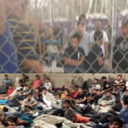 Obama Lures Tens of Thousands of Foreign Children Into Cages, Then  Sickens Them With Bad Food and Then Dumps Them on the Street