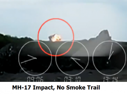 Was MH17 Shot Down? Why No Fireball Or Smoke Trail? Why No Missile Trail? Why No Plane?