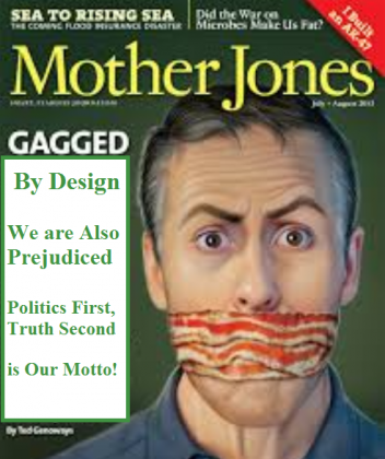Mother Jones Puts Out Absurdly False Article Which May Fan Racial Paranoia, Why? Part 1