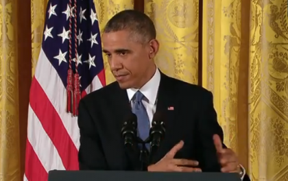 Obama Doubles-Down on His Policy Agenda Despite Sweeping Losses